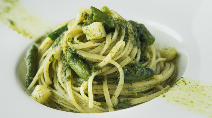 Pasta con gli asparagi