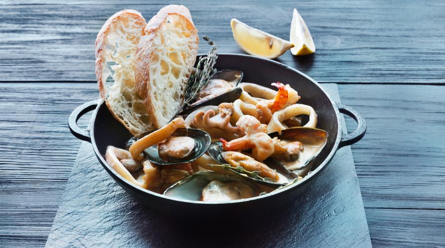 Sautè di frutti di mare
