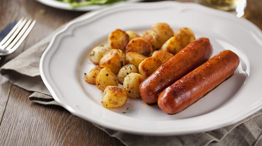 patate-e-wurstel-al-forno