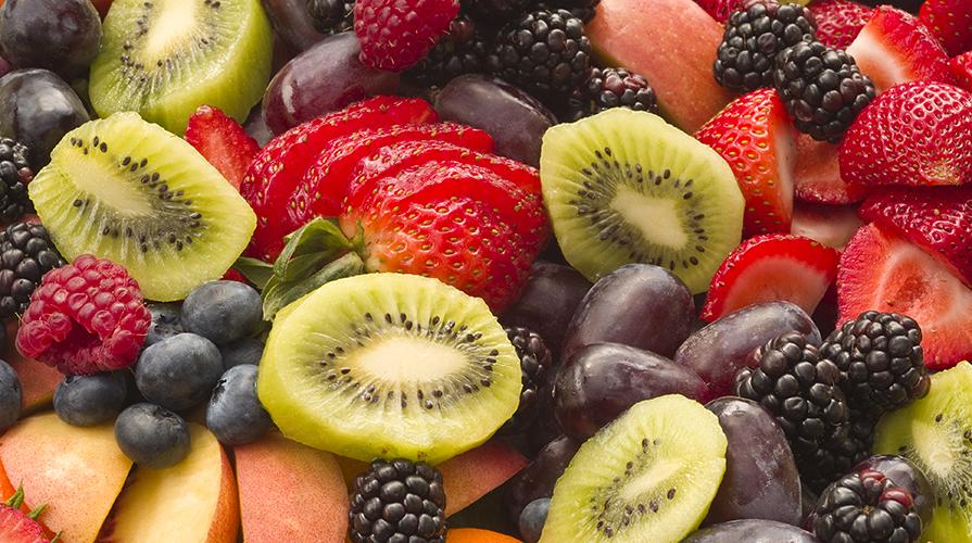 Ricetta macedonia di frutta fresca e cous cous giornale - Contorno di immagini di frutta ...