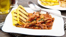 zuppa di pesce con polenta