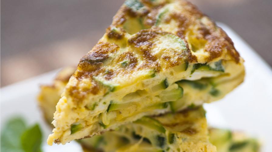 Frittata al forno con Zucchine e Uova