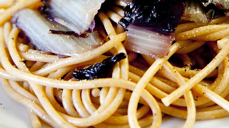 spaghetti-al-radicchio