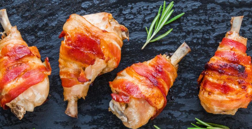 fusi di pollo con speck