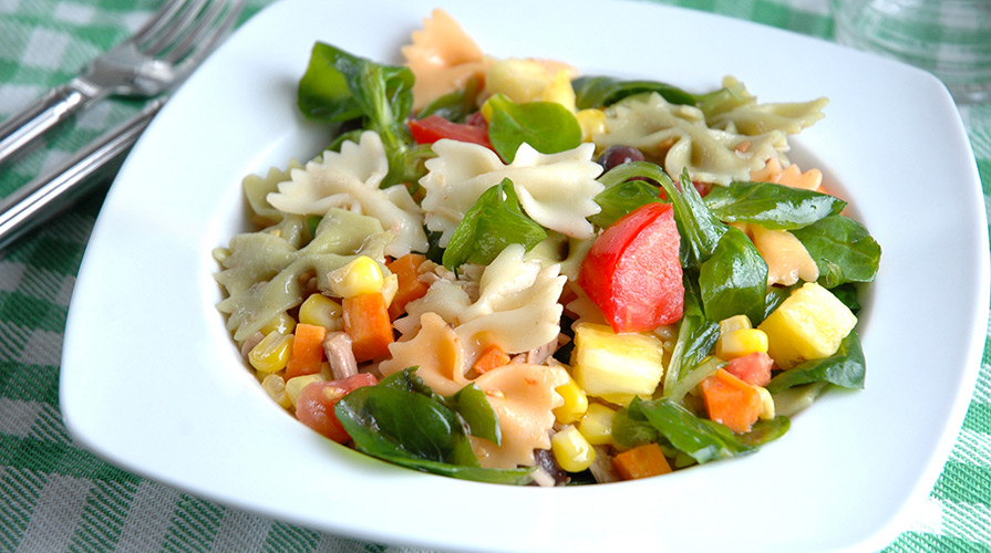 pasta fredda con verdure