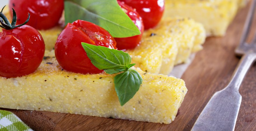 polenta pizzata
