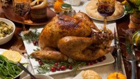 menù della festa del ringraziamento
