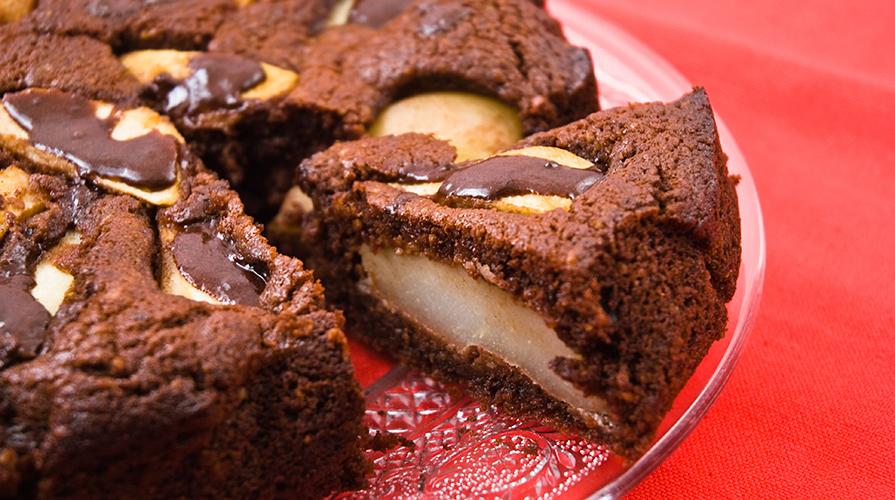 ricetta-torta-di-pere-cioccolato-e-ricotta