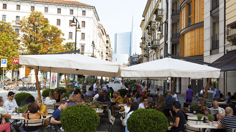 pausa pranzo a Milano