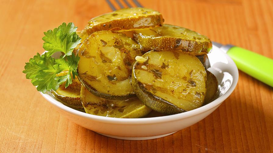 Zucchine marinate la ricetta de il giornale del cibo - A tavola con guy ricette ...
