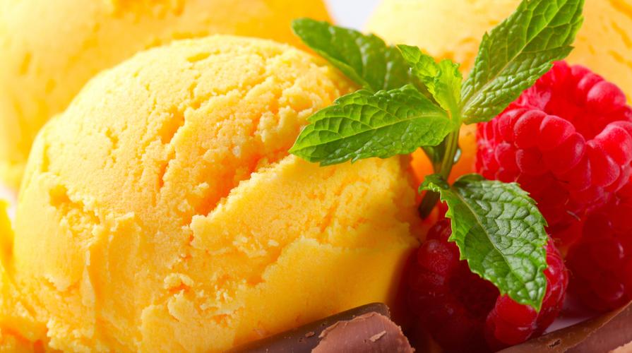 Dessert al mango