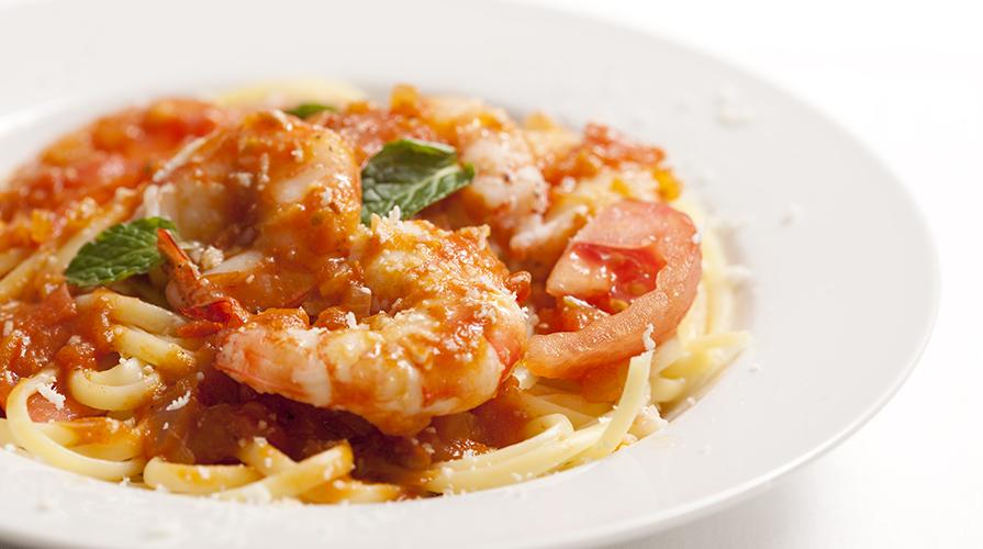Ricetta pasta con gamberi rossi il giornale del cibo for Ricette cibo