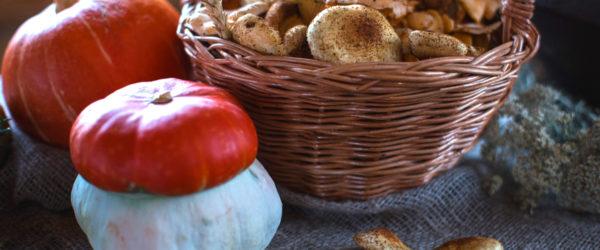 Patate funghi e zucca al forno