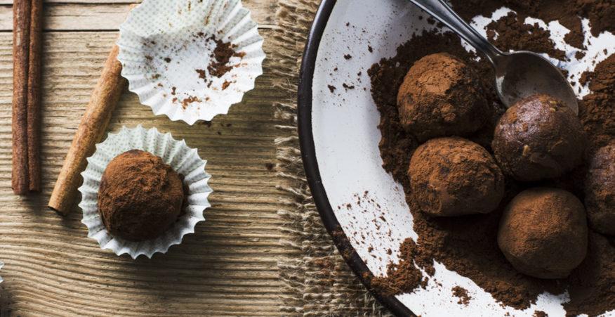 tartufi cioccolato e castagne