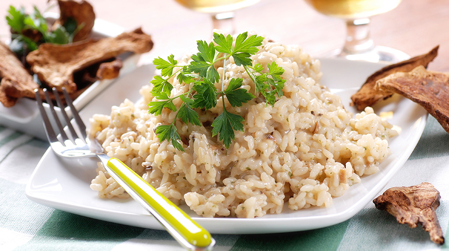 preparare il risotto