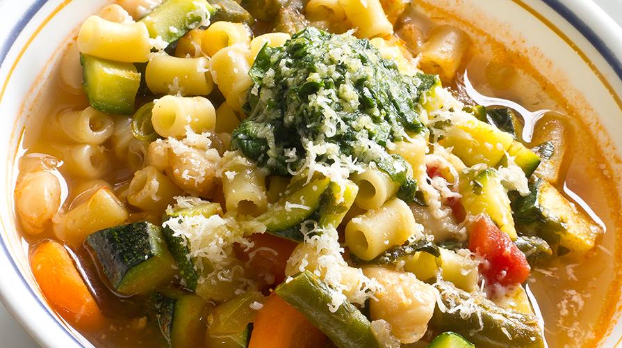 ricetta per il minestrone