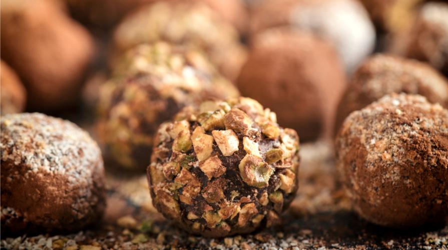 Praline al cioccolato e mascarpone