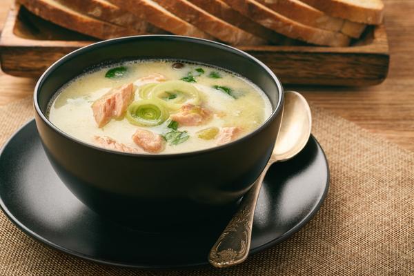 zuppa di trota