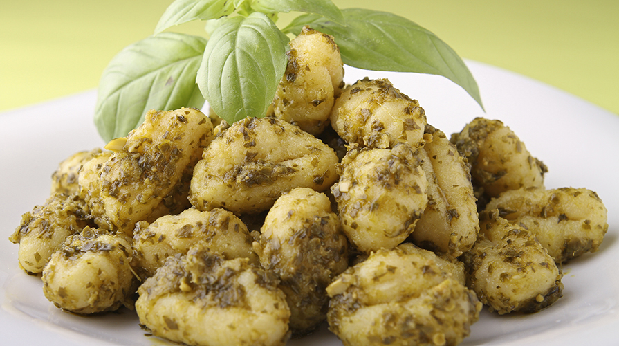 Gnocchi di patate in bianco