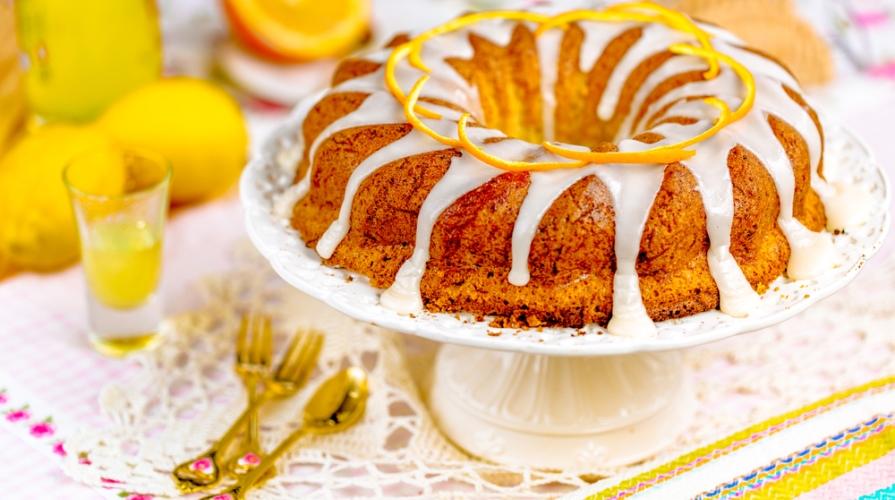 torta di carote e limone
