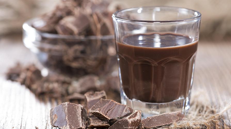 liquore-al-cioccolato ricetta
