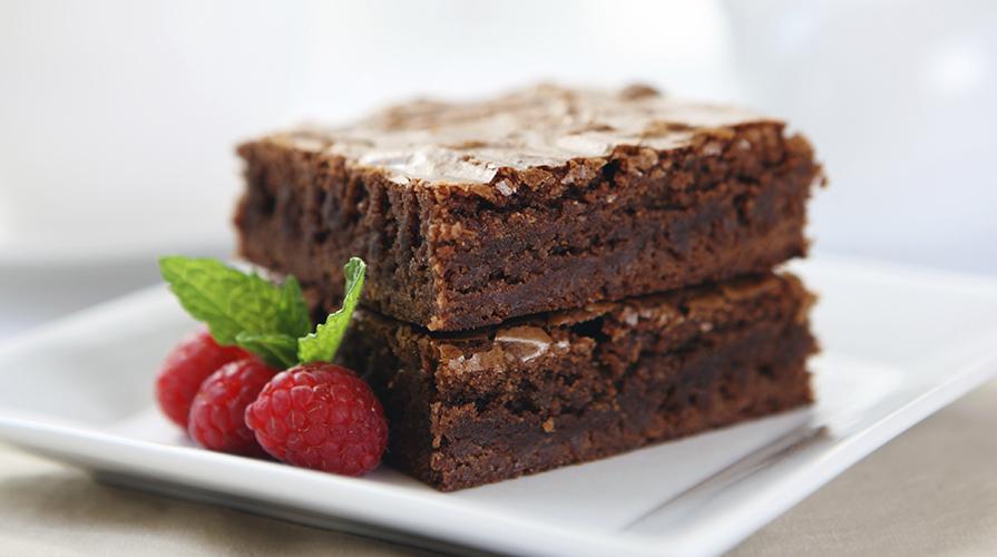 brownies coi lamponi