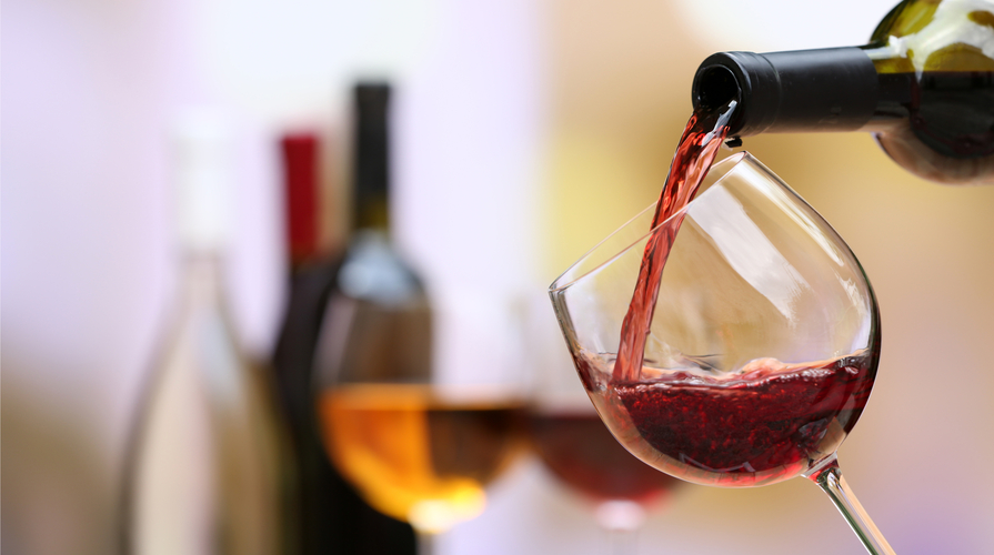 vino rosso vegano