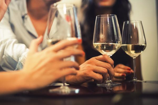 bere vino vegano
