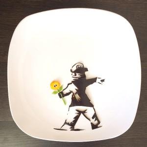banksy l arte nel piatto