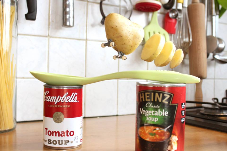 Patata in skate Bennoit Jammes