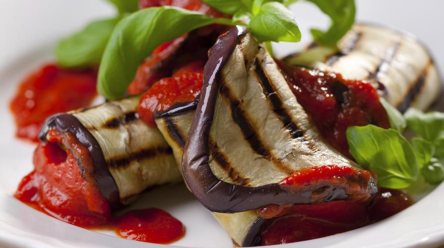 ricetta di involtini di melanzane e pesce spada
