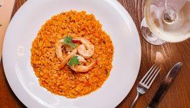 risotto rosso gamberi