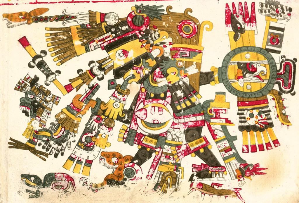 Dio azteco Tezcatlipoca