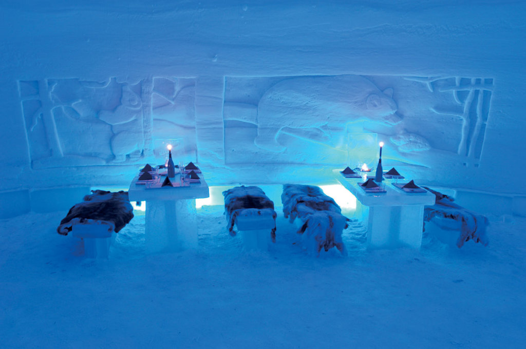 Lainio Snow Village Ice Restaurant