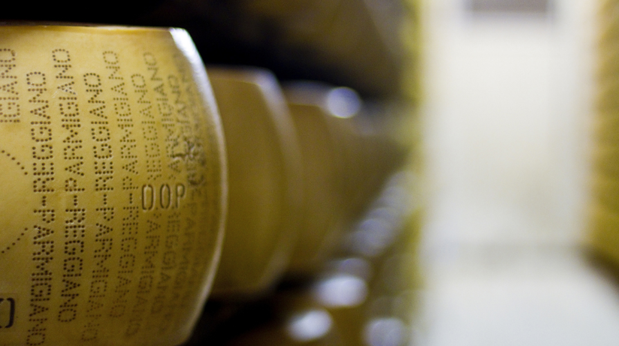 Parmigiano made in Italy