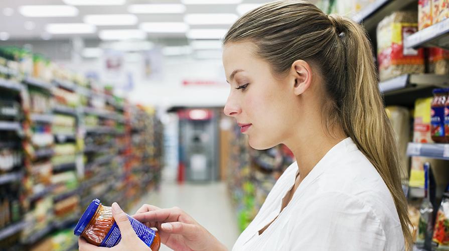 Etichett dei prodotti alimentari