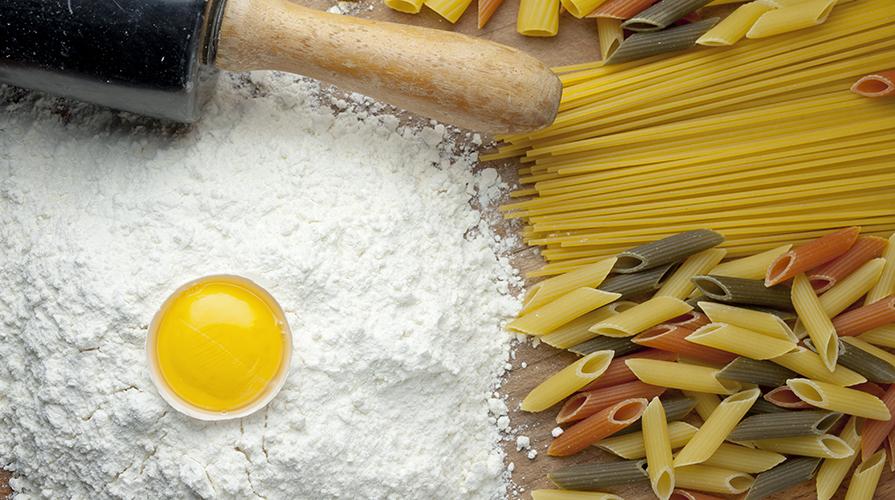 Spaghetti e farina