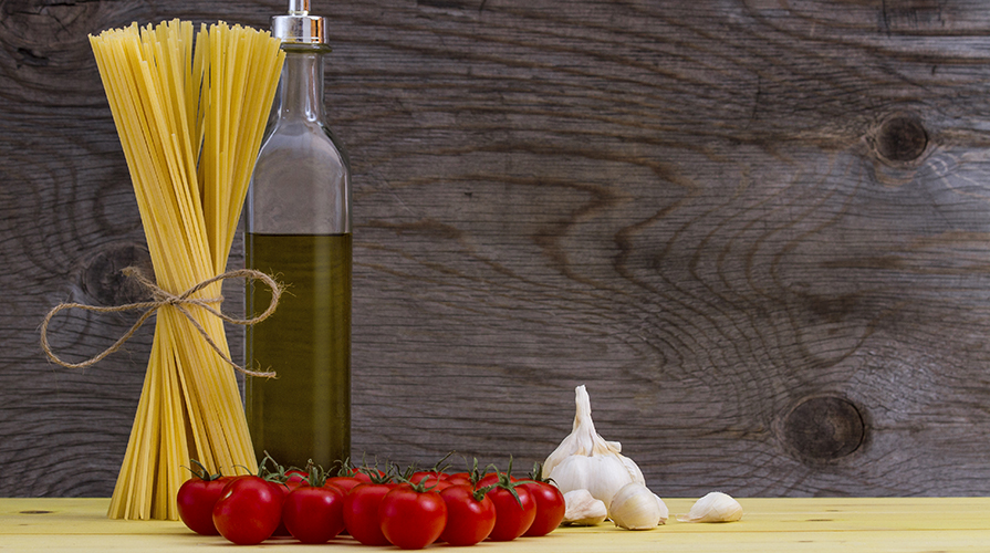 Pasta nella dieta mediterranea