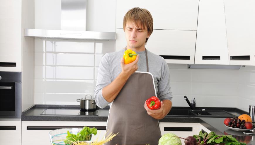5 sfumature dell'uomo in cucina