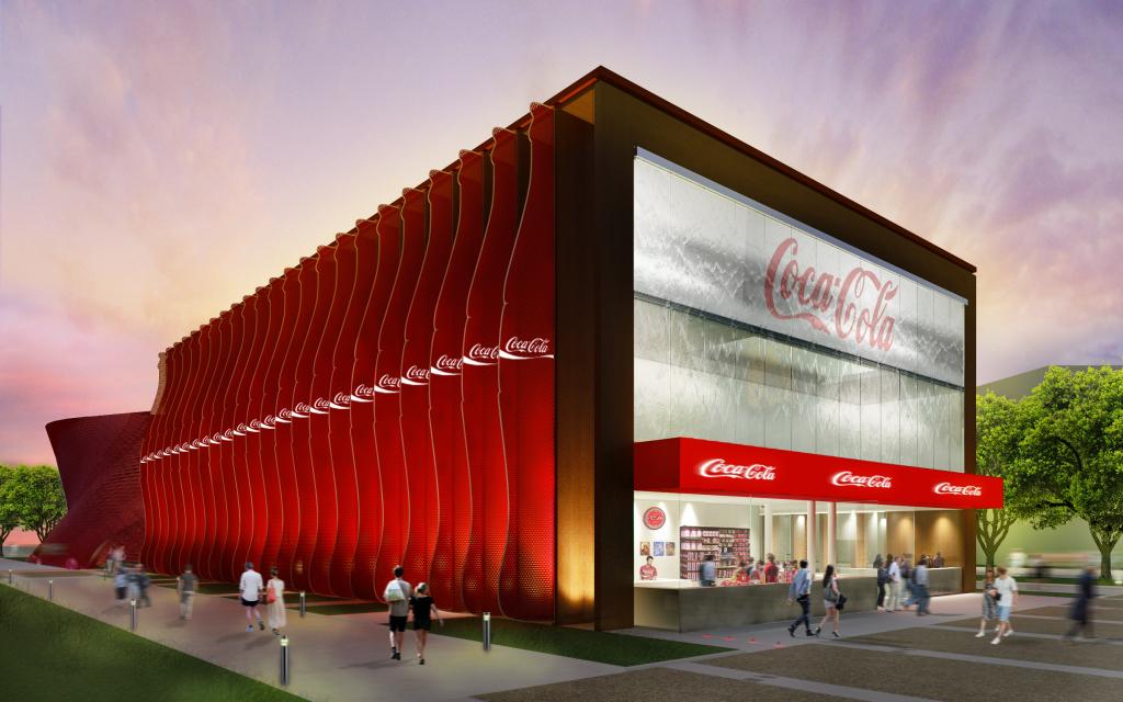 Padiglione Coca Cola Expo