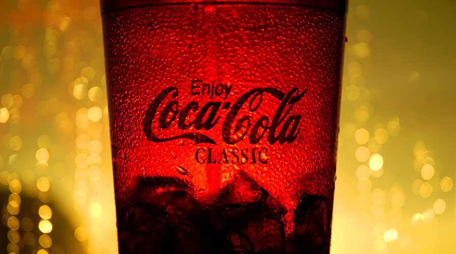 bicchiere Coca Cola classica