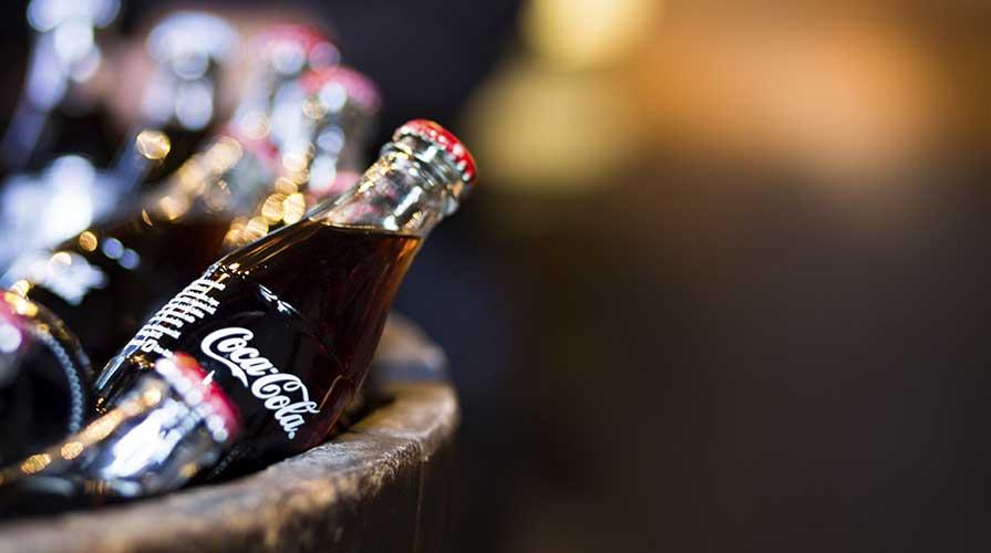 bottiglia coca cola