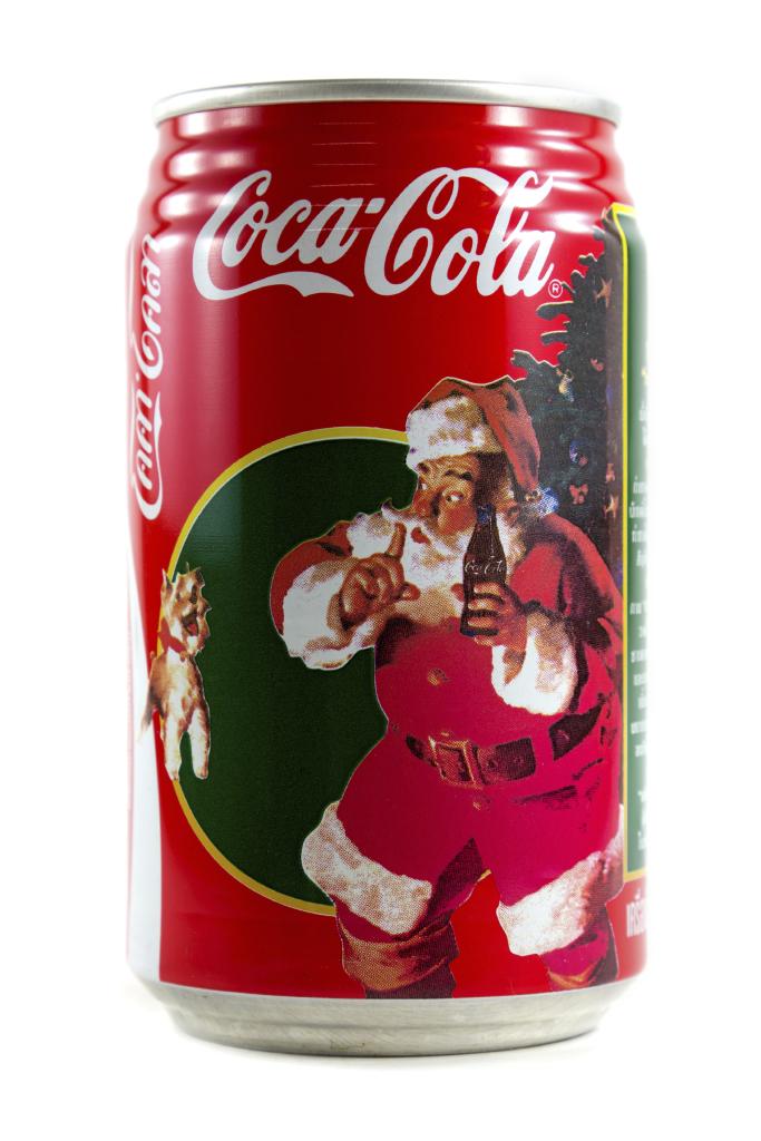 Lattina Coca Cola Babbo Natale