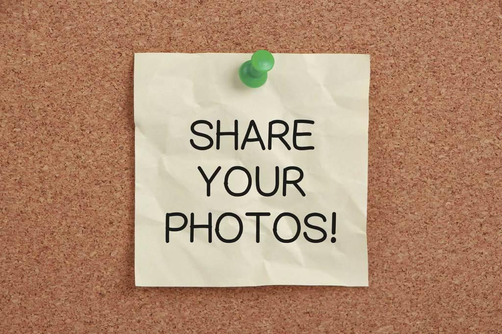 condividere immagini sui social