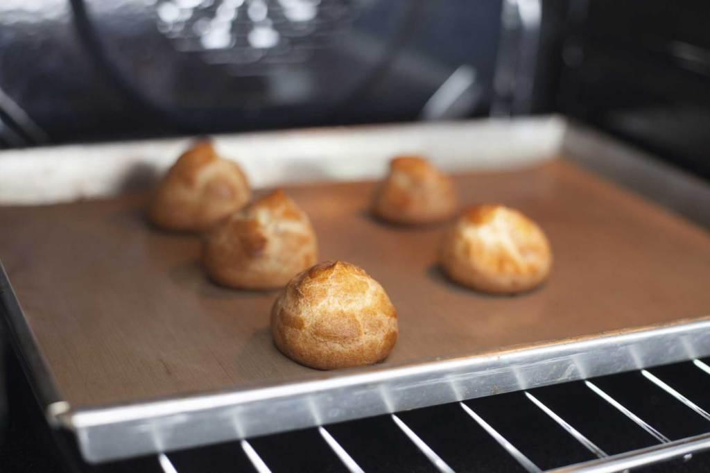 pasta a choux cottura in forno