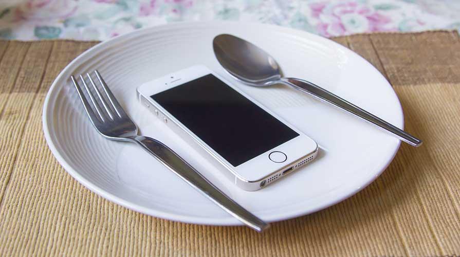 social network e food