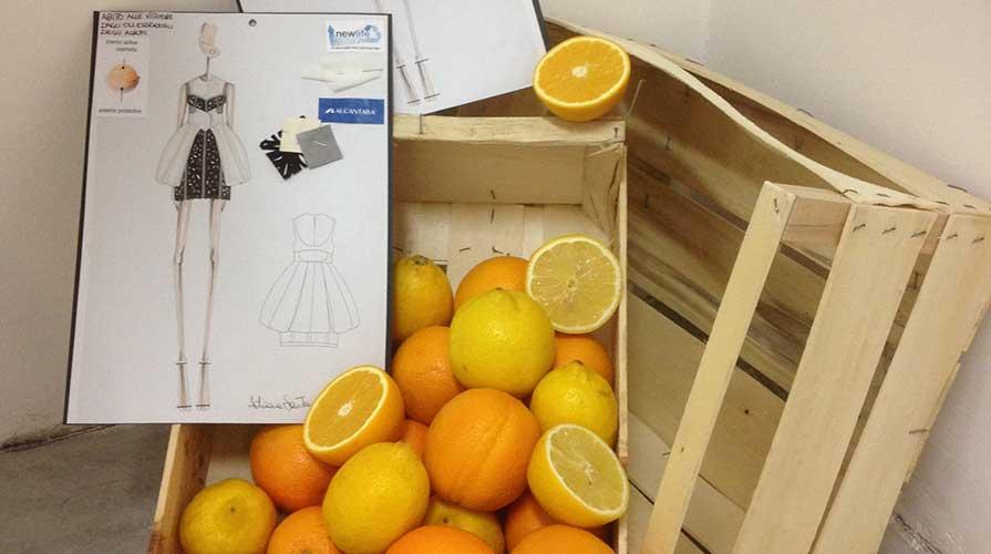 tessuti dalle arance
