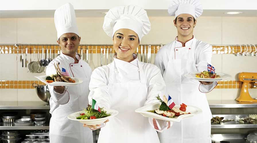 Cucina internazionale ad Expo