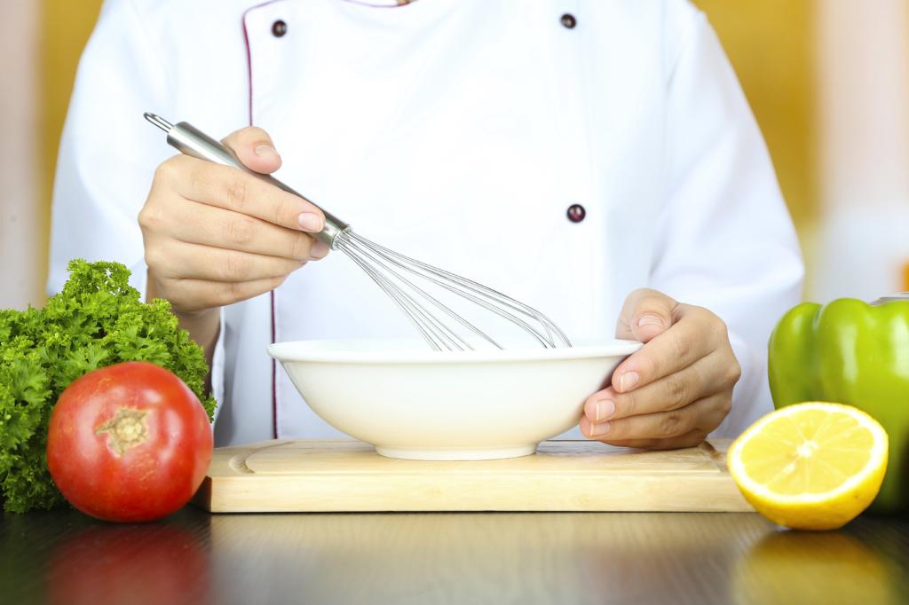 maionese, preparazione a mano