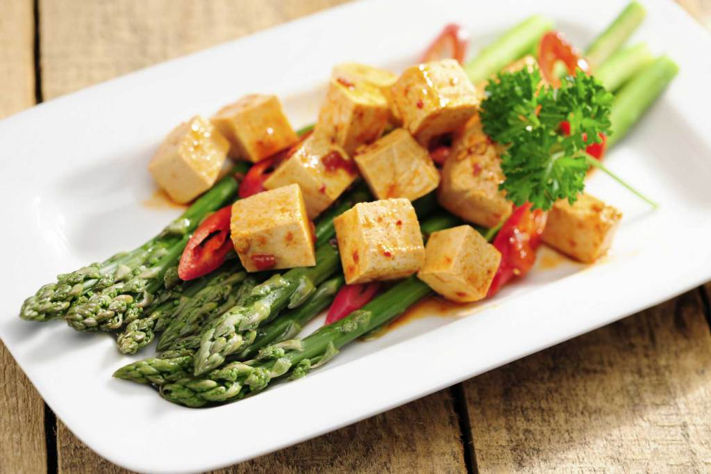 Tofu, dieta vegan